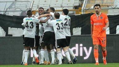 Besiktas end Basaksehir's 4-game winning streak