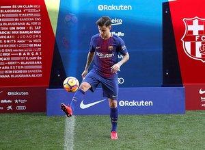 Coutinho için imza töreni düzenlendi