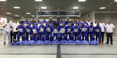 Talisca'nın takımı Türkiye'ye geldi