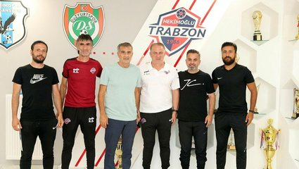A Milli Takım Teknik Direktörü Şenol Güneş Hekimoğlu Trabzon'u ziyaret etti