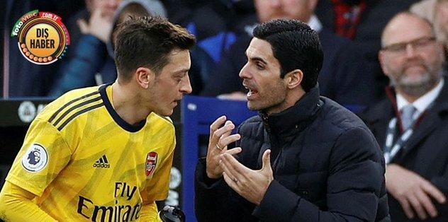 """Arteta'dan Mesut Özil açıklaması! """"Kadro dışı kalması maaşıyla ilgili değil"""""""
