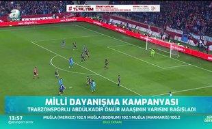 Abdülkadir Ömür'den Milli Dayanışma Kampanyası'na destek