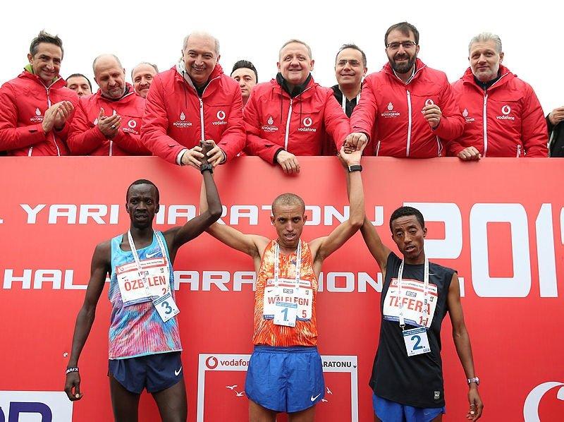 Vodafone 13. İstanbul Yarı Maratonunda rekor!