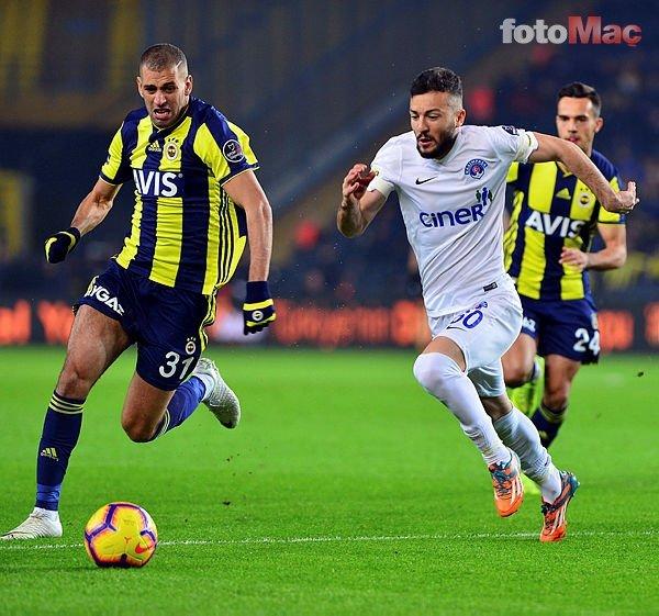 Islam Slimani'den Fenerbahçe itirafı! Kendimi gösteremedim çünkü...