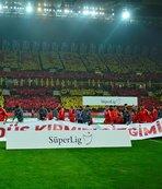 Kayserispor-Beşiktaş maçında İsrail'e tepki