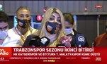 Berna Gözbaşı: Trabzonspor'a değil hakeme yenildik