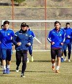 Evkur Yeni Malatyaspor'da kupa maçı hazırlıkları