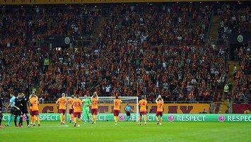 Galatasaray 124 gün sonra sahasına kavuştu
