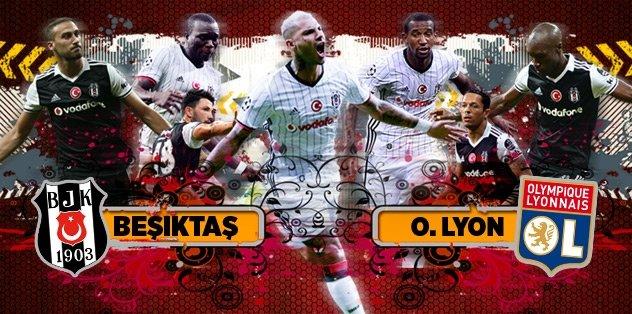 Beşiktaş - Olympique Lyon   Canlı Anlatım
