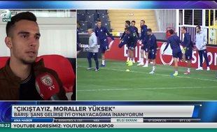 Önceliğim Fenerbahçe'de oynamak