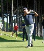 Bakan Çavuşoğlu golf turnuvasında