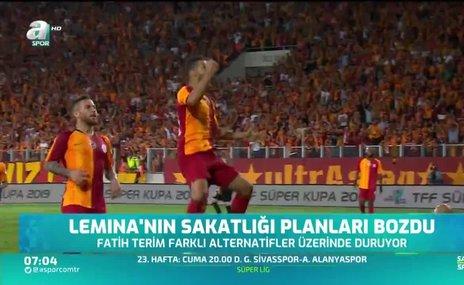Galatasaray derbi öncesi Lemina'ya alternatif arıyor