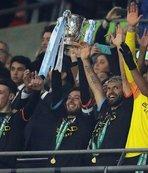 İngiltere Lig Kupası Manchester City'nin!