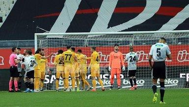 Beşiktaş, Ankaragücü maçında 17 maç sonra penaltı kazandı