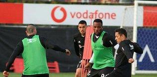 Beşiktaş MKE Ankaragücü maçı hazırlıklarını sürdürdü