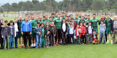Bursaspor'da taktik prova