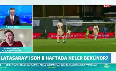 Galatasaray'ı son 8 haftada neler bekliyor? Canlı yayında aktardı