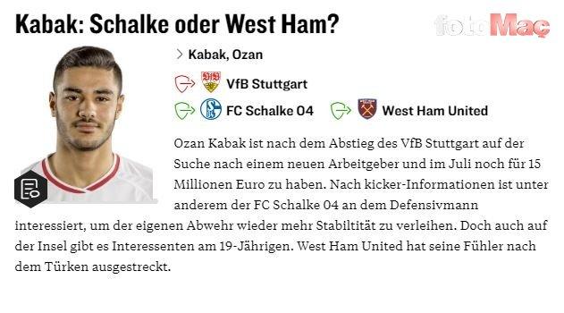 Ozan Kabak için iki takım daha devrede!