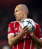 Arjen Robben futbola veda etti