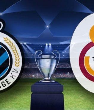 Galatasaray Club Brugge Şampiyonlar Ligi maçı saat kaçta hangi kanalda? GS Brugge maçı CANLI yayın bilgileri, ilk 11'ler, eksik oyuncular...