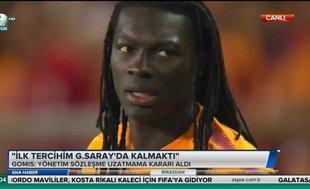 Gomis: İlk tercihim Galatasaray'da kalmaktı