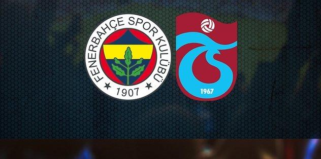 Fenerbahçe-Trabzonspor maçı ne zaman? Saat kaçta? Hangi kanalda? | Zİraat Türkiye Kupası - Futbol -