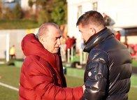 Harry Kewell'dan Galatasaray antrenmanına ziyaret!