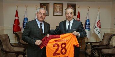 Galatasaray'dan Eyüpsultan Belediyesine ziyaret