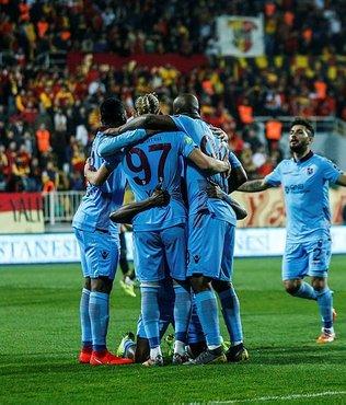 Fırtına İzmir'de esti! Göztepe 1 - 3 Trabzonspor