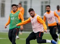 Galatasaray Keçiörengücü maçı hazırlıklarına başladı