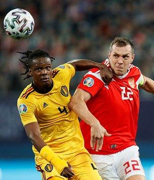 Rusya-Belçika maçında ilginç olay! 10 dakika boyunca...
