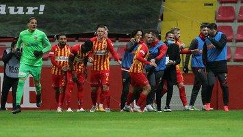 Kayserispor'dan kritik galibiyet!