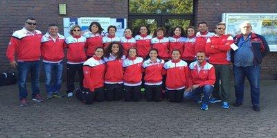 A Milli Kadın Sutopu Takımı'ndan şampiyonluk