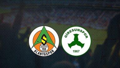 Alanyaspor - Giresunspor maçı ne zaman, saat kaçta ve hangi kanalda canlı yayınlanacak? | Süper Lig