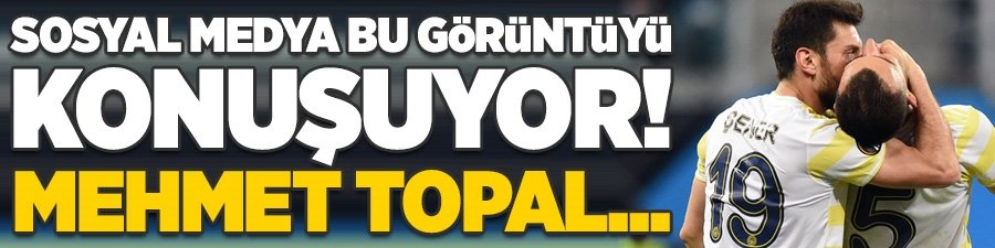 Sosyal medya bu görüntüyü konuşuyor! Mehmet Topal...