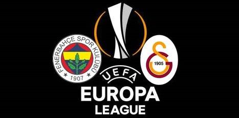 Galatasaray ve Fenerbahçe'nin rakipleri belli oldu