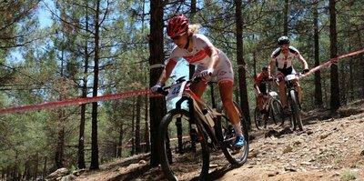 Dağ bisikletçileri Gaziantep'te ter döktü