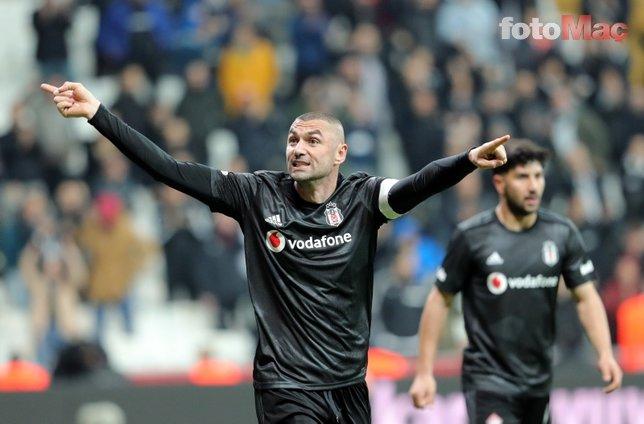 Beşiktaş maçında Caner Erkin'den Burak Yılmaz'a: Sana ne!