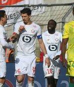 Lille tek golle kazandı