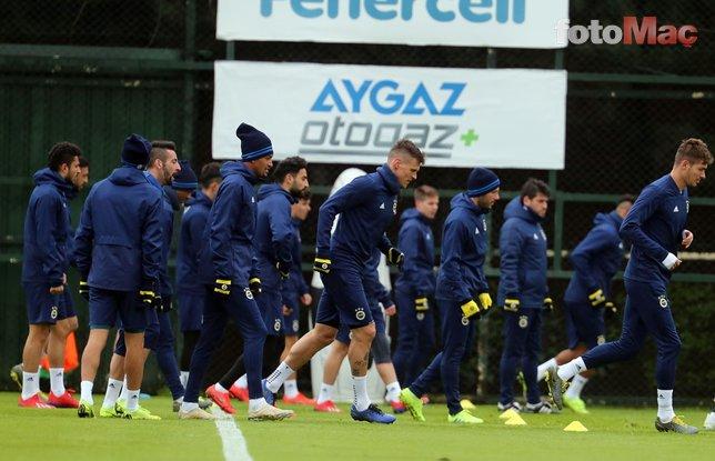 Fenerbahçe'de beklenmedik gelişme! İdmanda ilk kez...