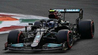 F1 İtalya Grand Prix'sinde sıralama turlarının galibi Valtteri Bottas