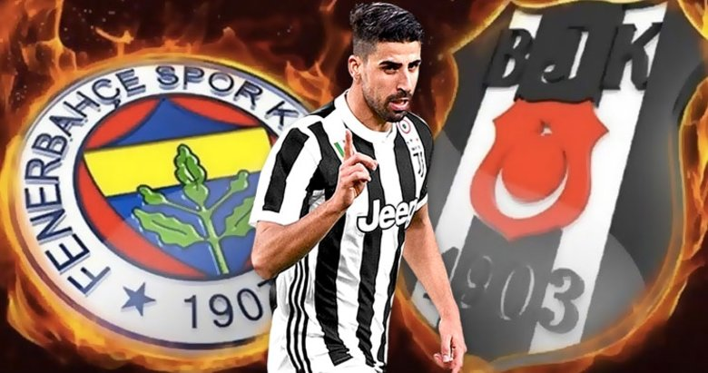 Sami Khedira'dan Fenerbahçe ve Beşiktaş cevabı! Kararını verdi | Son dakika transfer haberleri...