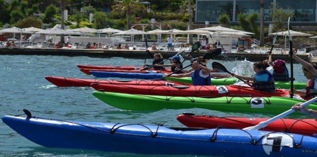 Deniz Kanosu Şampiyonası Bolu'da düzenlendi