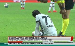 Beşiktaş'tan Gökhan Gönül açıklaması