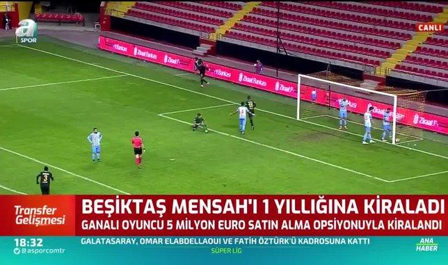 besiktas mensahi 1 yilligina kiraladi 1597506355388 - Son dakika: Beşiktaş Bernard Mensah'ı 1 yıllığına kiraladı