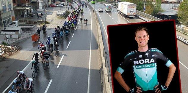 55. Cumhurbaşkanlığı Türkiye Bisiklet Turu'nda 5. etabı Felix Grossschartner kazandı