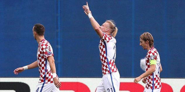 Hırvatistan, Kosova'yı tek golle geçti