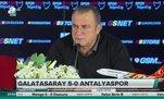 Fatih Terim: Galatasaray pes etmez