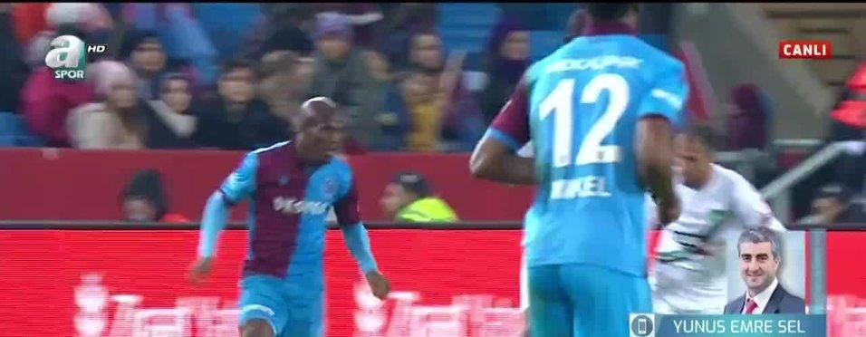 Trabzonspor'da Nwakaeme Beşiktaş maçının kadrosuna alınmadı