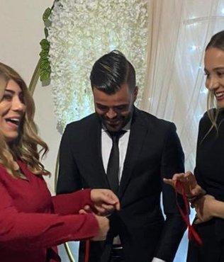 Yüzükleri başkan taktı! Kayserisporlu Hasan Hüseyin'in mutlu günü